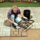 DIY Walk Marker Mold for Garden Concrete Path Stepping Stone Mould Pavement
