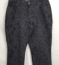 Style & Co. Denim Womens. Size 16 Blue Print Jegging  Pant Jeans