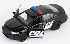 Blitz envío ford police interceptor negro Welly modelo auto 1:34 nuevo & OVP