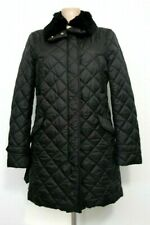 NWT | ALLEGRI Women's Kilted Jacket in Black with Rex Fur | size 44 | RRP 560€