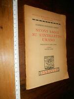 libro :NUOVI SAGGI SU L'INTELLETTO UMANO FILOSOFIA G. G. HEINZ PARAVIA 1944 I^ E