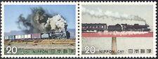 GIAPPONE 1974 Treni/macchine a vapore/Locomotive/Trasporto/Rail 2 V Set PR (n25169)