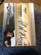 Deck McGuire Autograph 2011 In The Game Heroes And Prospects Lumbergraphs