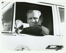 GARY CROSBY IN SQUAD CAR PORTRAIT ADAM-12 ORIGINAL 1973 NBC TV PHOTO