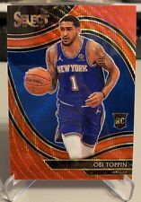 2020-21 Panini Select OBI TOPPIN Courtside Red Wave Prizm RC SSP Tmall Exclusive