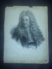 Lithographie Originale DAGUESSEAU signée crayon A MAURIN - DELPECH H RIGAUD XIX