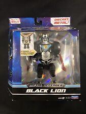 """Playmates Voltron Legendary Defender DieCast Black Lion 2017 Die-cast metal 8"""""""