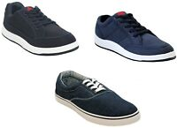 New Mens Lace up Plimsolls Pumps Canvas Flat Casual Trainers Shoes UK SIZE 7-12