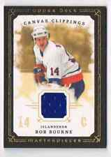 2008-09 MASTERPIECES CANVAS CLIPPINGS BROWN BOB BOURNE JERSEY 1 COLOR NEW YORK