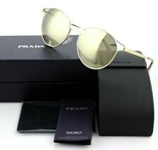 d92b202563ba3 NEW Authentic PRADA Cinema Metal Antique Gold Mirror Sunglasses SPR 62S ZVN  1C0