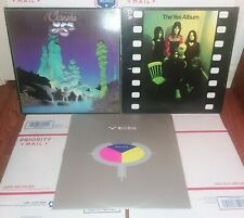 3 Yes Vinyl Lp Lot Classic Yes W/ I Seen All Good People 45 The Yes Album 90125