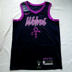 "Nike Swingman Minnesota Timberwolves ""Prince Purple Rain"" Jersey"