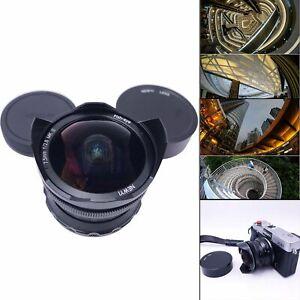 7.5mm f2.8 II Fisheye Lens Super Wide Angle Manual Focus Lens Large Aperture