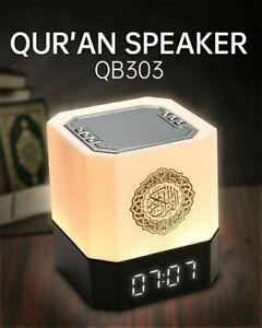 Ezan Saat Saati Azan Uhr Automatische Gebetsuhr Smart Quran Lautsprecher LED