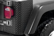 Jeep Wrangler Tj 97-06 Rear Body Armor Tall Corner Pair X 11650.01
