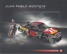 "2008 JUAN PABLO MONTOYA ""TEXACO HAVOLINE"" #42 NASCAR SPRINT CUP SERIES POSTCARD"