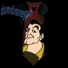 Disney Pin WDW 2015 Hidden Mickey Series *Villain Neckties* Gaston Tie!