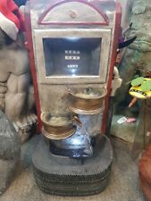 VINTAGE BOWSER PUMP TYRE WATER FEATURE FOUNTAIN HOME GARDEN STATUE ORNAMENT