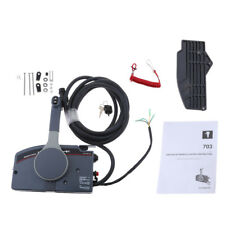 Boat Marine Outboard Remote Control Box for Yamaha PULL Throttle 10Pin Cable