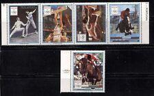 BARCELONA OLYMPIC GAMES ON PARAGUAY 1989 Scott 2306-2307 MNH