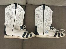 Terry Funk ring worn Boots Wwe worn wwe used wrestling worn, wwe signed