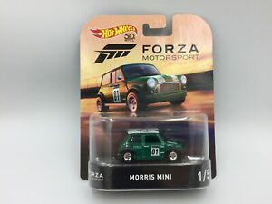 Hot Wheels Premium Forza Motorsport Morris Mini Real Riders 1/64