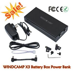 WINDCAMP X3 Battery Box Power Bank for ELECRAFT KX3 Transceiver High Quality 1P