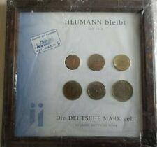 Heumann Coin Set 1,2,5,10,50,1Dm 53 Years Deutsche Mark