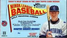 2014 Topps Heritage Minor League Baseball Hobby Box - Factory Sealed!