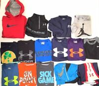 Youth Boy's Nike Under Armour Shirts Hoodies Shorts LOT Sz Small (8)