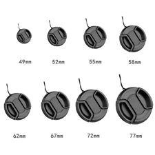 TOP+Replacement DSLR Camera Front Lens Cap Center Snap on Lens Caps 49mm-77mm