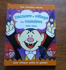 Halloween DECOUVRE LE VILLAGE DES MONSTRES AVEC NOUS Livre animé  Pop up