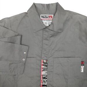 Walls FR Flame Resistant Coveralls Workwear 2XL Regular ATPV 8.2 2112 HRC 2 NEW