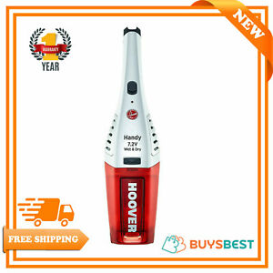 Hoover Jive Wet & Dry Cordless Handheld Vacuum Cleaner 7.2V Red/White - SJ72WD6A