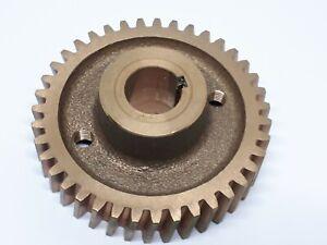 F1 & F2F Chip Cutter Replacement Spiral Worm Wheel Part No. AQ18217