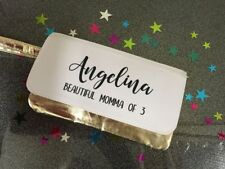Personalised Gold / Silver Make-up Cosmetic Bag