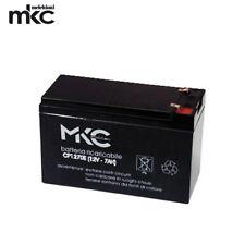 BATTERIA MKC 12V 7A TAMPONE PER SIRENE DA ESTERNO AL PIOMBO FASTON 4.8MM
