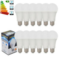 12/10/4x 9W E27 LED Globe Light Bulbs Warm White Light ES Spotlight Very Bright