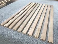 10 Oak Garden Bench Slats 53mm X 22mm X 1000mm Hardwood Seat Solid Oak Chair