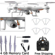 2G X5C-1 4CH 6-Axis Gyro RC Quadcopter Drone Helicopters UAV HD 0.3MP Camera