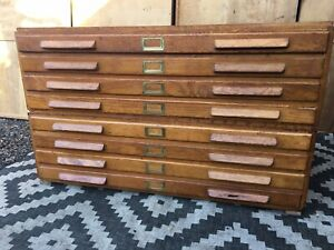Plan Chest Architects Drawers Map Artist DELIVERY AVAILABLE