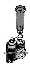 Komatsu Excavator Fuel Feed Pump Pc78us 5 Pc78mr 6 Pc78us 6 Pc100 6 Pc120