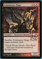 Fulminator Mage Shadowmoor NM Rare Artist Signed CARD (96956) ABUGames
