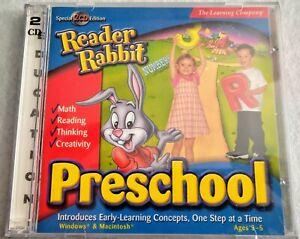 Reader Rabbit Preschool Classic PC