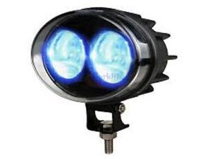 Blue Safety Zone Light -Forklift,Line Marking, Industrial safety - 10v-80v
