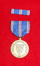 Commemorative Medal - Disabled Veterans Of Ww2 And Ribbon Bar