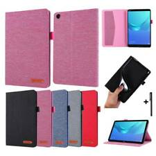 For Lenovo Tab M7 M8 M10 P10 E10 Tablet PU Leather Flip Stand Cover Case Skin