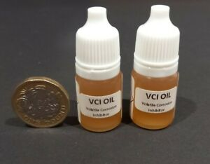 VCI Oil 10ml Corrosion Inhibitor Rust Prevention & Protection for Tool Parts Gun