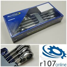 Blue Point 21-25mm Ratchet Spanner Set BOERM704, Incl. VAT. As sold by Snap On.