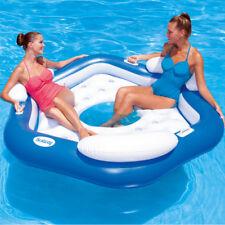 Bestway Badeinsel Schwimminsel XL Luftmatratze Pool Liege Schwimmliege Lounge